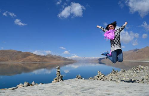圣湖羊卓雍错的纵然一跳(西藏禅文化朝圣游学 2014)