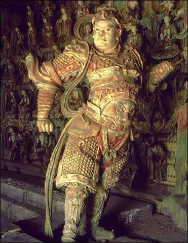 中国佛寺建筑一般布局