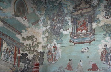 瞿昙寺的壁画