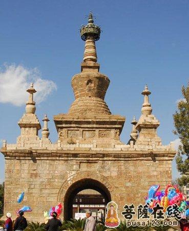 佛教建筑艺术:金刚宝座塔