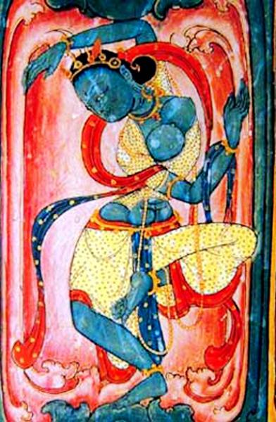 托林寺壁画——穿越时空的古格宫廷舞蹈