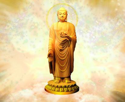 阿弥陀佛为何总是站着?