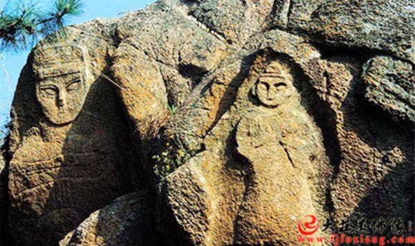 孔望山佛教造像的内容及其背景
