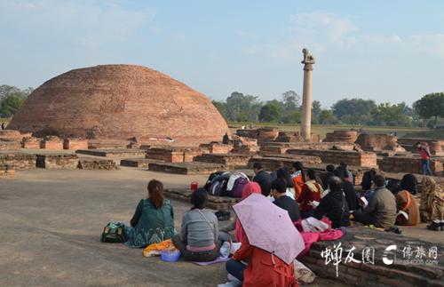 阿难舍利塔共修·印度朝圣之旅
