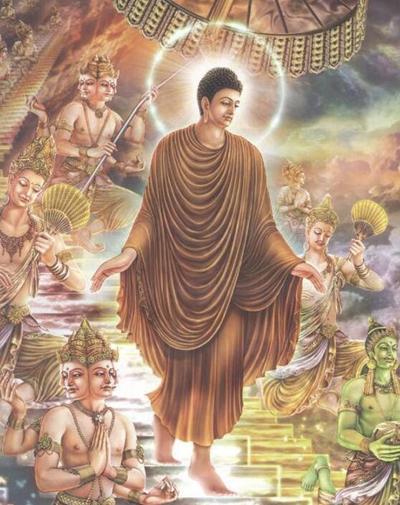 像佛陀一样走路
