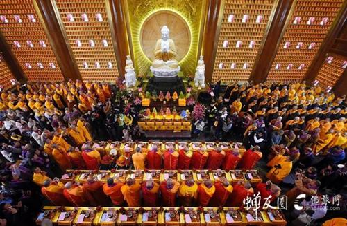 大佛寺弘法楼开光
