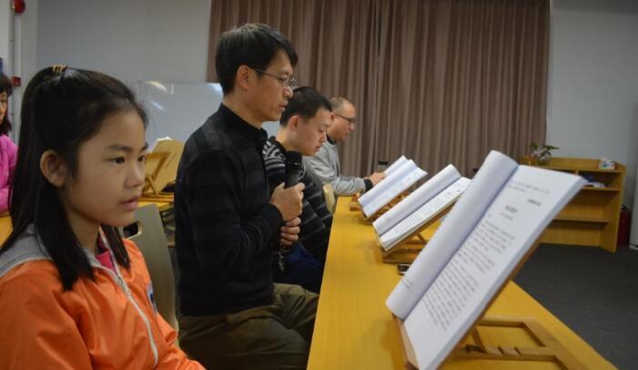 回顾:第七期广州素食学校阅藏共修举行