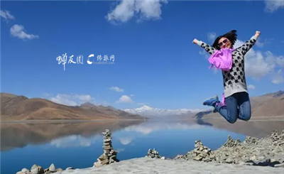 羊卓雍错的飞跃 2014.5