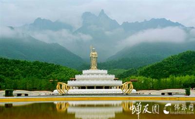 高达九十九米的地藏王菩萨像,世界上最高的露天大佛铜像