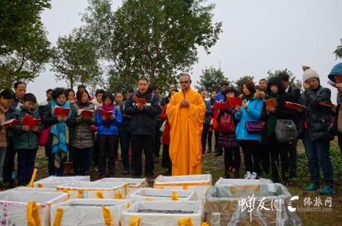 3.12蝉友圈放生公益活动在广州大学城举行