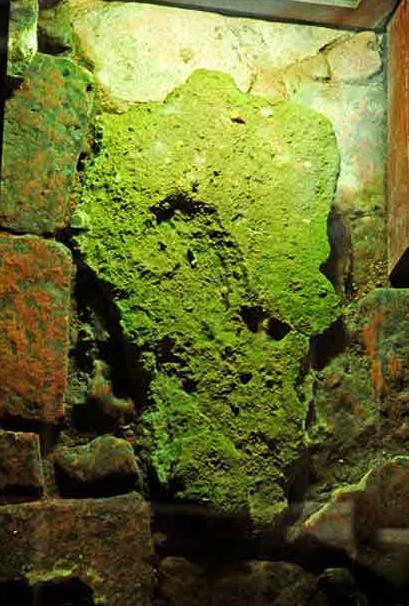 释迦牟尼佛出生落地石