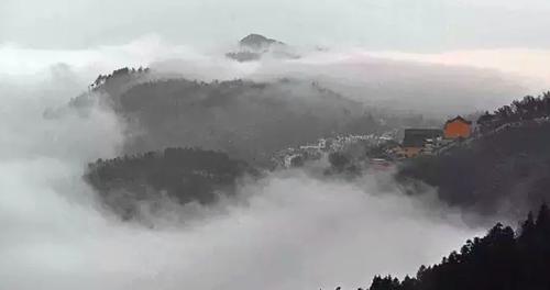 在对的时空 发现九华山最美的瞬间
