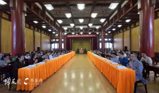 大众阅藏共修法会现场