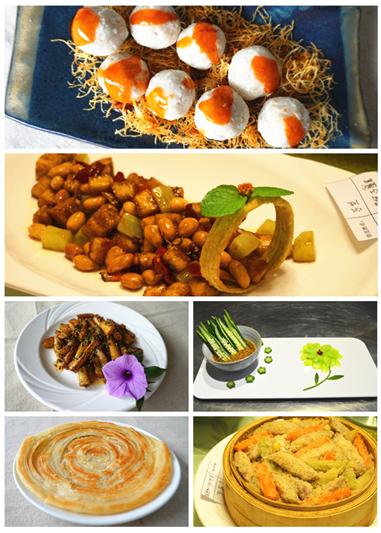 广州素食学校创业班学员作品