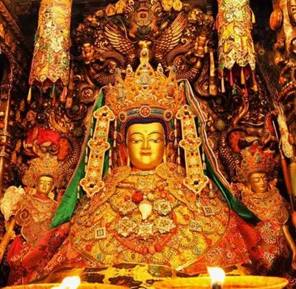 佛陀12岁等身像(觉沃佛)