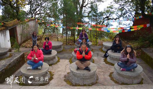龙8国际娱乐官网网鸡足山游学之旅