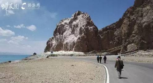 沿着扎西岛绕圣湖纳木错(蝉友圈西藏朝圣游学 2016.5)