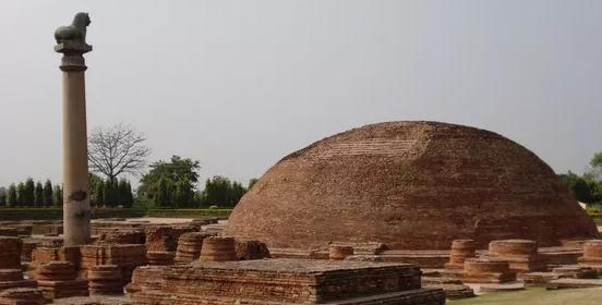 印度朝圣:阿难舍利塔