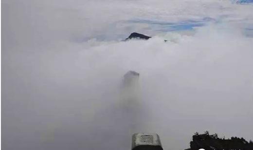 梵净山禅雾