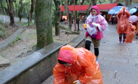 回顾:大雾大风大雨中的普陀山朝圣之旅