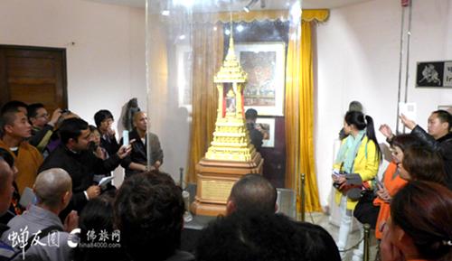 印度朝圣:释迦牟尼佛舍利十分天下