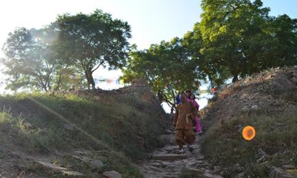 印度朝圣之朝礼佛陀降凡处——桑克希亚