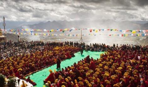 哲蚌寺举行建寺600周年庆典