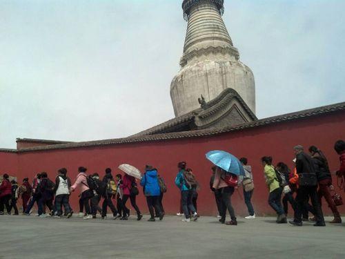 五台山佛教历史发展的高峰|五台山朝圣