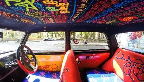去印度,坐一辆有故事的车