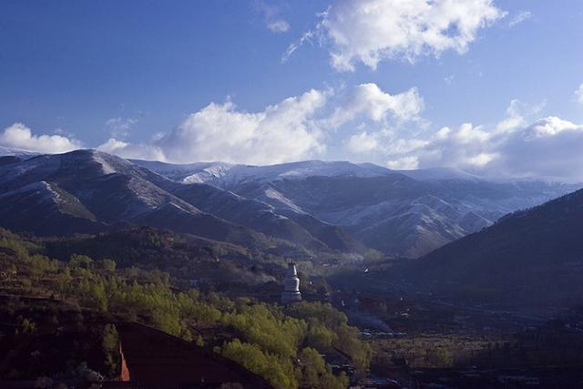 五台山美景