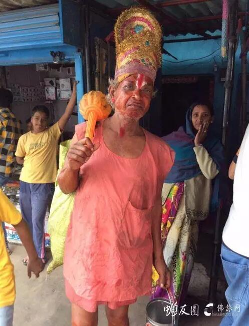 印度外道·据说是猴神