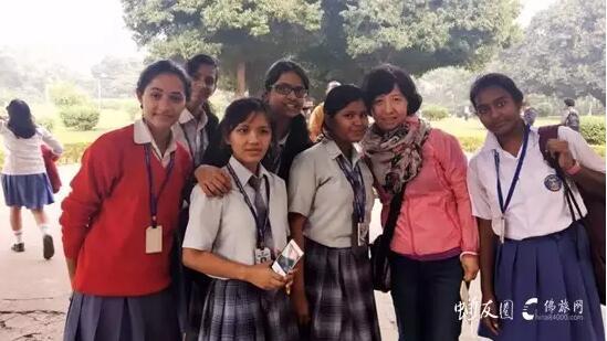 印度的学生们