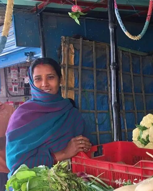印度菜农大婶·印度的莎丽总是让人难以忘怀