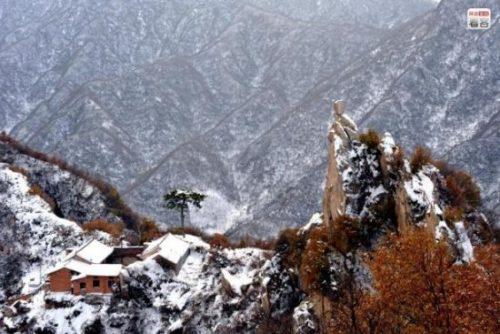 外媒:终南山隐士近年人数激增 山顶变得拥挤