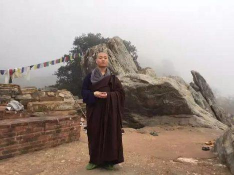 中国法师15天跨越10000公里,去找佛陀过了个年……