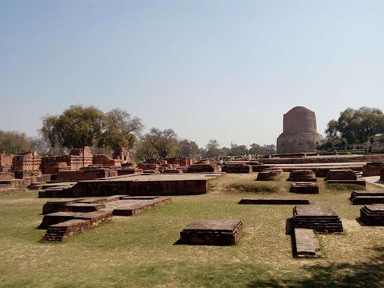 鹿野苑是佛陀最初讲四圣谛的地方|印度朝圣旅游
