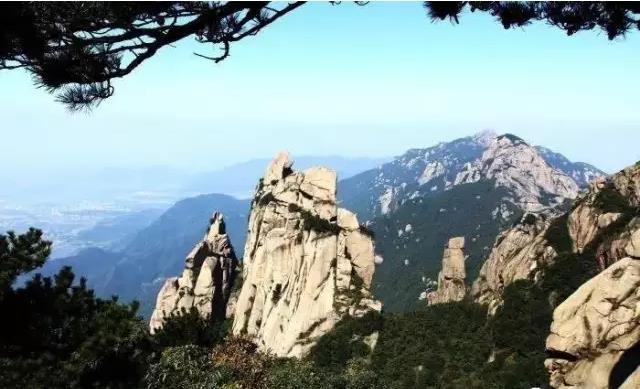 九华山候选世界地质公园|九华山佛教朝圣