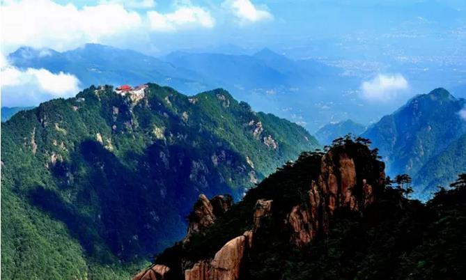 中国佛教名山九华山端午民俗吸引5万游人|九华山朝圣祈福