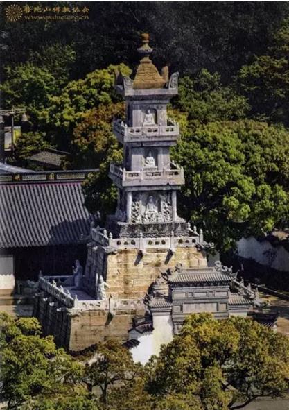 普陀山镇山三宝之多宝塔|普陀山佛教朝圣