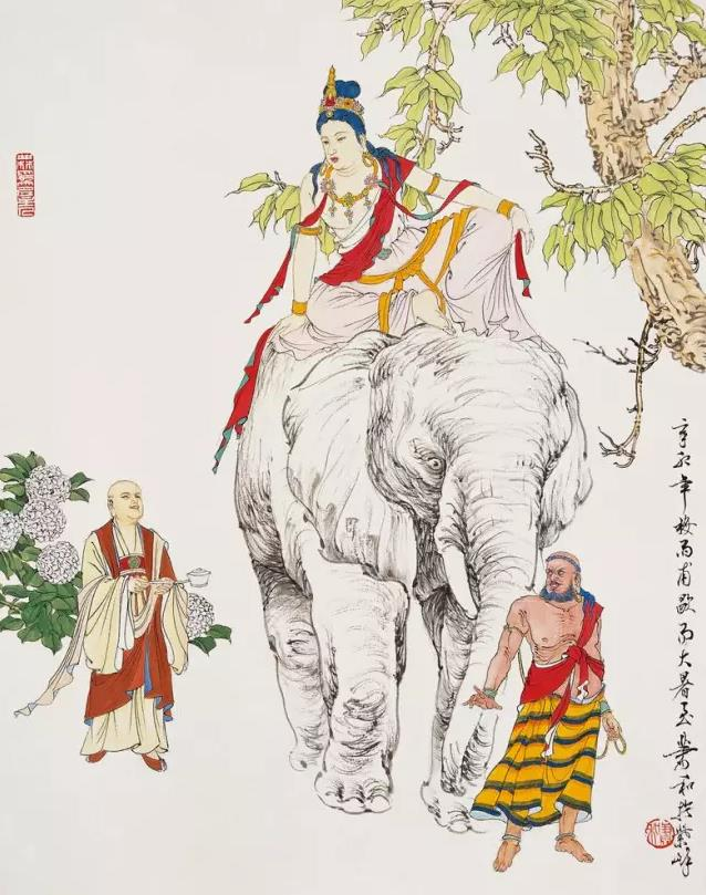 《净土圣贤录白话》——普贤菩萨|峨眉山佛教旅游