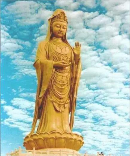 高僧讲述佛像开光日观音菩萨显灵经过|普陀山朝圣