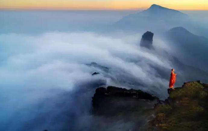 贵州梵净山:生态环境与佛教文化珠联璧合|梵净山朝圣