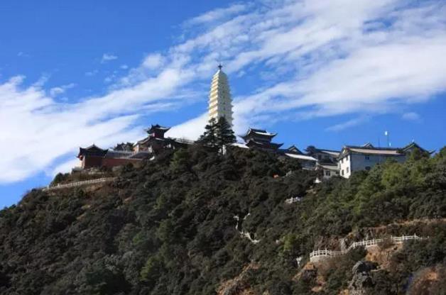 鸡足山金顶寺 一座心灵上的坐标|鸡足山佛教朝圣