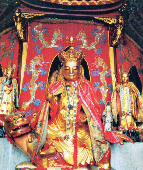 地藏菩萨—九华山唐代肉身