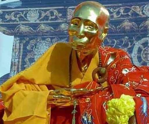 九华山肉身菩萨:慈明和尚肉身