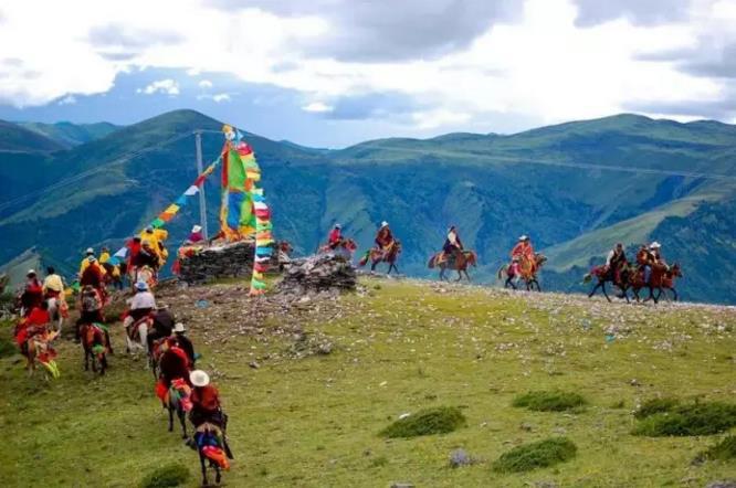 西藏藏地节日之达玛节|西藏佛教旅游