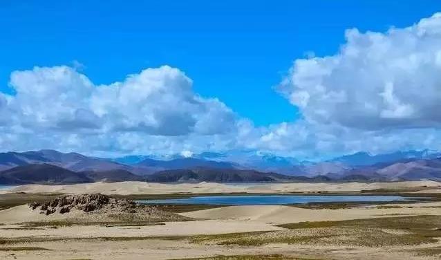 雅鲁藏布江的源头竟然是一片沙漠|佛旅网西藏朝圣