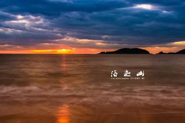 普陀山朝圣景点-海上卧佛