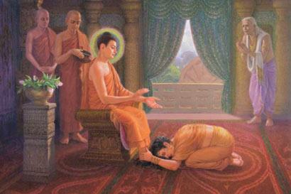 佛陀故事:出家证道重归故里 再见妻儿恍如隔世