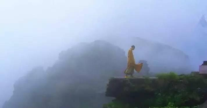 在梵净山过一天与世无争的生活